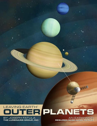 Leaving Earth: Outer Planets