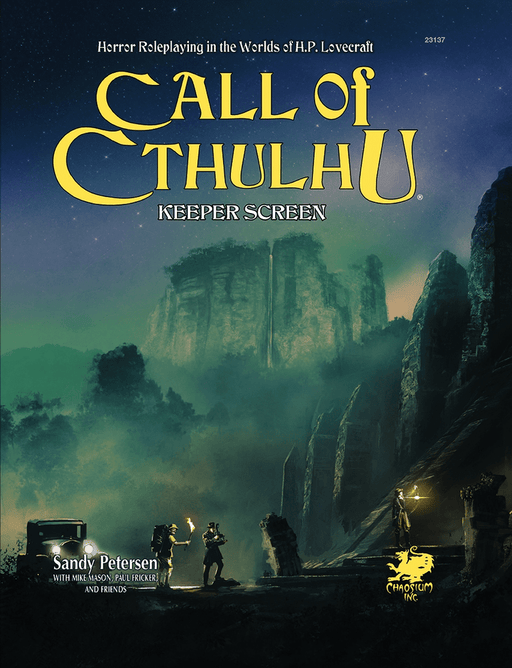 Call of Cthulhu: Keeper Screen (7th edition)
