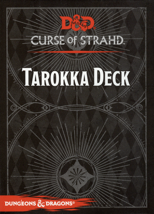 Dungeons & Dragons (5th Edition) - Curse of Strahd Tarokka Deck