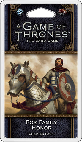 A Game of Thrones: The Card Game (Second Edition) – For Family Honor