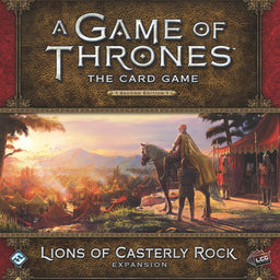 A Game of Thrones: The Card Game (Second Edition) – Lions of Casterly Rock