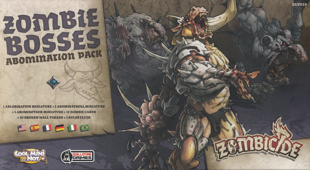 Zombicide: Black Plague Zombie Bosses Abomination Pack