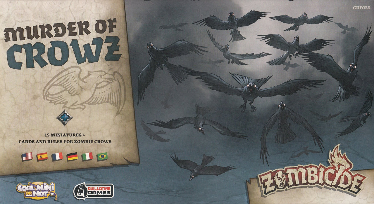 Zombicide: Black Plague – Murder of Crowz