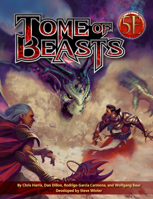 Tome of Beasts (5E) (Kobold Press)