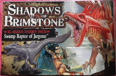 Shadows of Brimstone: Swamp Raptor of Jargono XL Enemy Pack