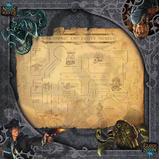 Elder Sign: Museum Gamemat