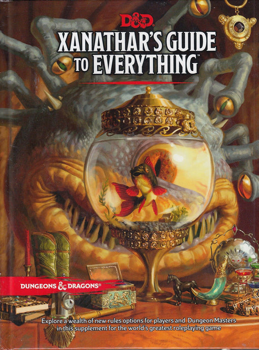 Dungeons & Dragons (5th Edition) - Xanathar's Guide to Everything