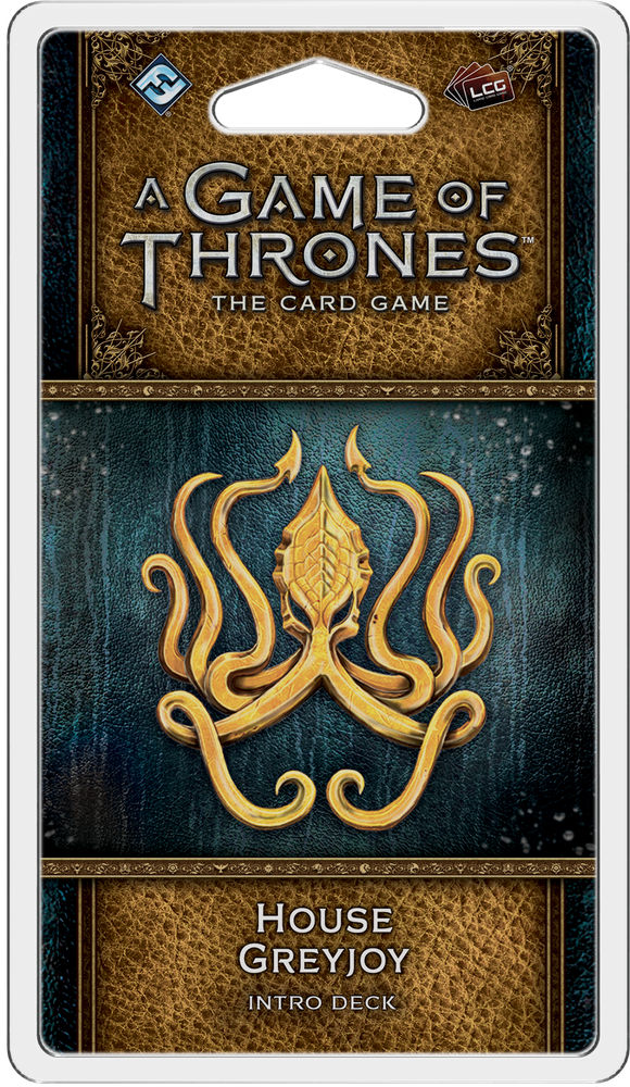 A Game of Thrones: The Card Game (Second Edition) – House Greyjoy Intro Deck