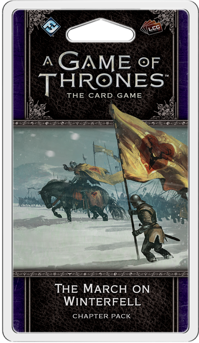 A Game of Thrones: The Card Game (Second Edition) – The March on Winterfell