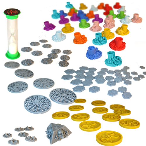 Cthulhu Wars: The Shining Trapezohedron Plastic Marker Pack