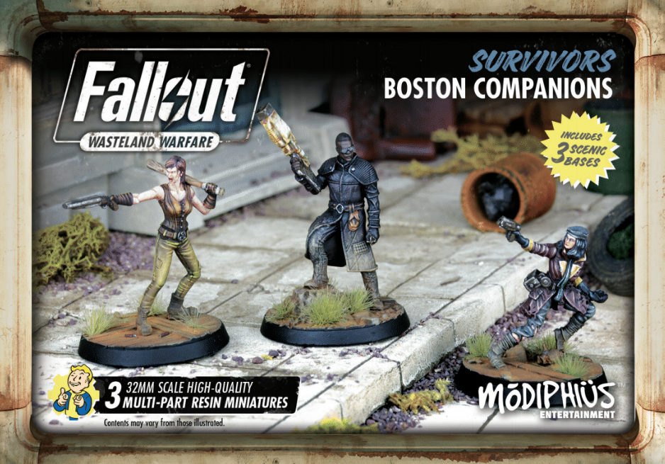 Fallout: Wasteland Warfare – Survivors: Boston Companions
