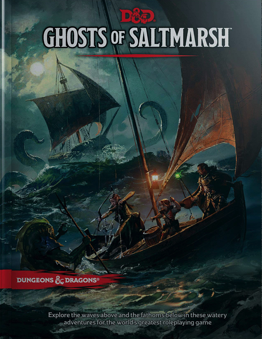 Dungeons & Dragons (5th Edition) - Ghosts of Saltmarsh