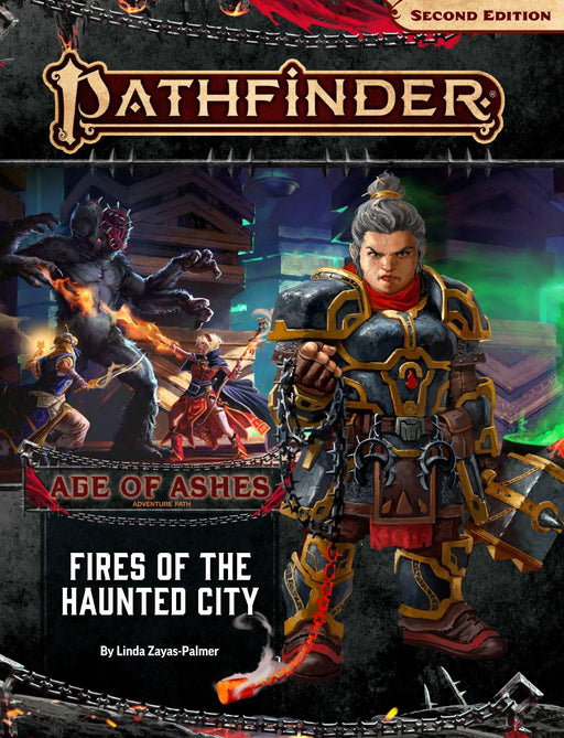 Pathfinder Roleplaying Game (2nd Edition) - Fires of the Haunted City