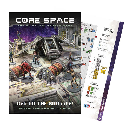 Core Space: Get to the Shuttle