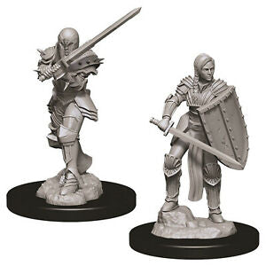 Dungeons & Dragons - Nolzur's Marvelous Miniatures: Female Human Fighter