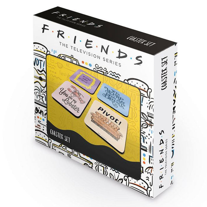 Friends Coaster 4-Pack Quotes