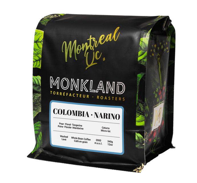 Colombia Narino - Monkland Coffee Roasters