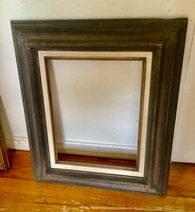 VTG Wood wooden mid century Picture Frame Made In Mexico