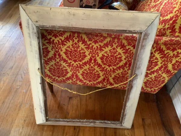 Vintage Gold Gilt Wood & Gesso Picture Frame wooden antique
