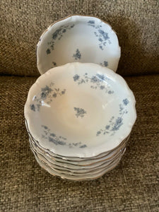 Johann Haviland Blue Garland Traditions Fine China Berry bowl Set of 8
