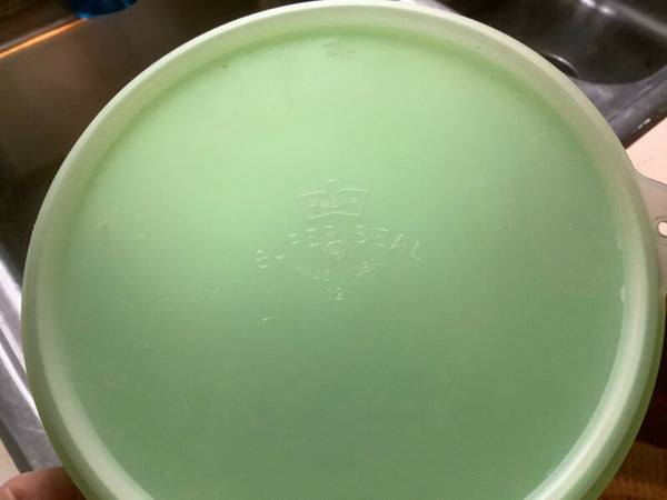 Vintage • Eagle SUPER SEAL green  Canister / Storage Container • Made In USA