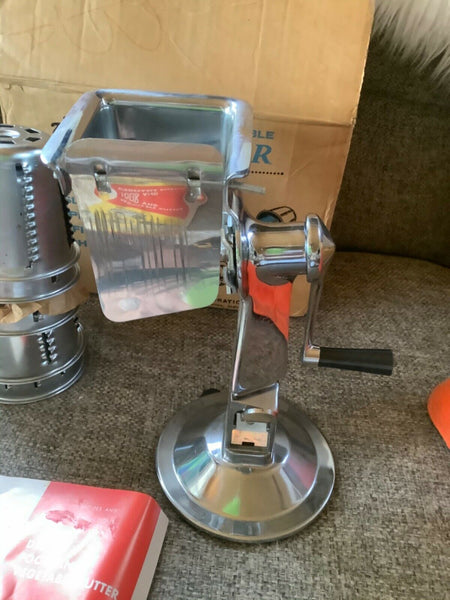 King Kutter Healthy Gourmet Kitchen Food Processor Cutter - Slicer - Grater