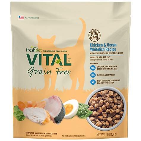 Freshpet Vital Grain Free Chicken Recipe