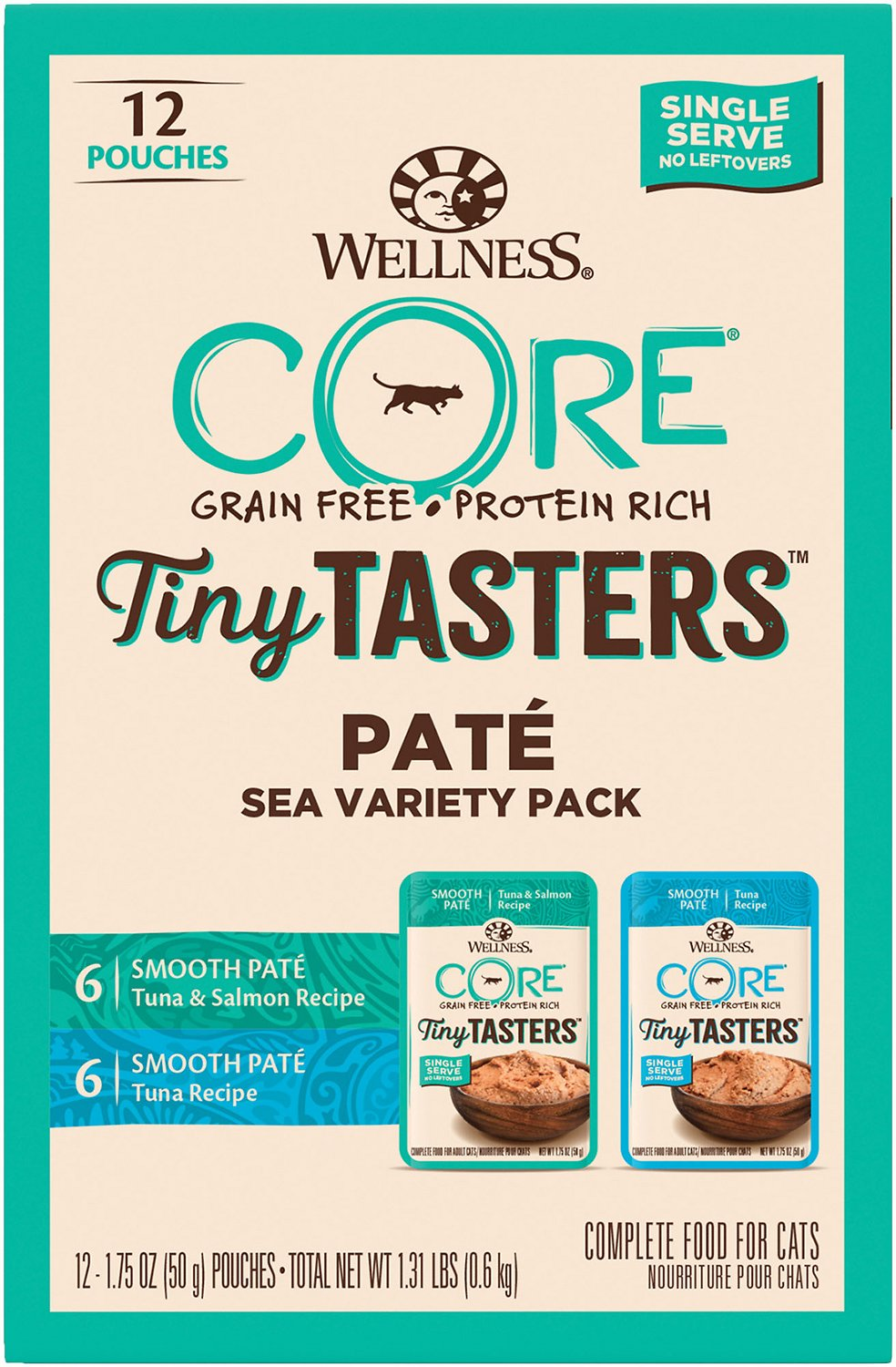 Wellness Core Tiny Tasters Tuna & Salmon