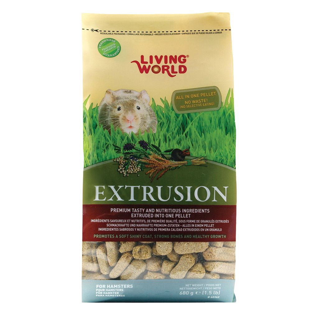 Living World Hamster Extrusion