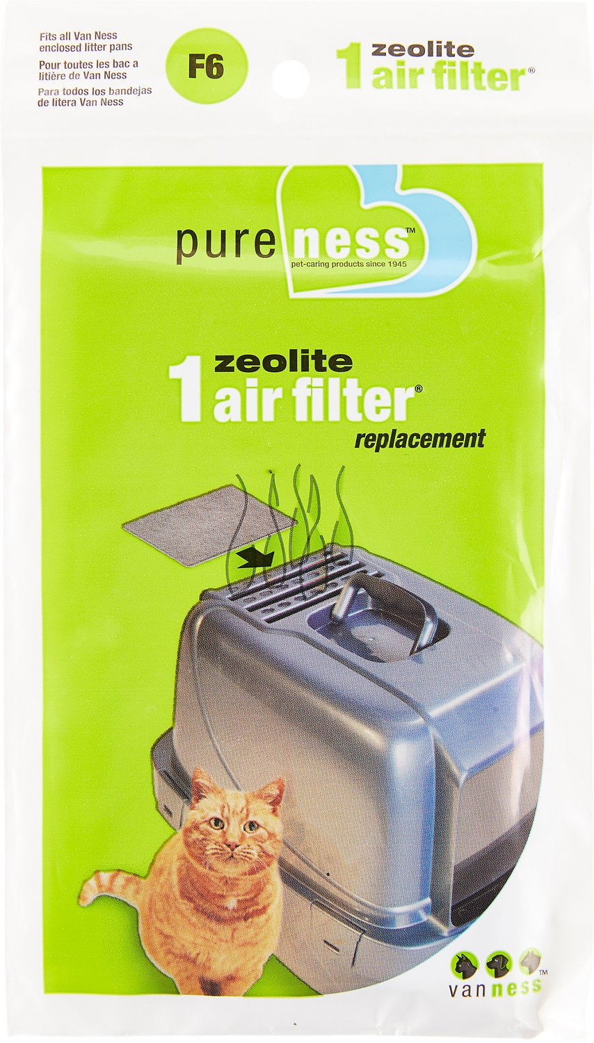 Van Ness Zeolite Filter Replacement