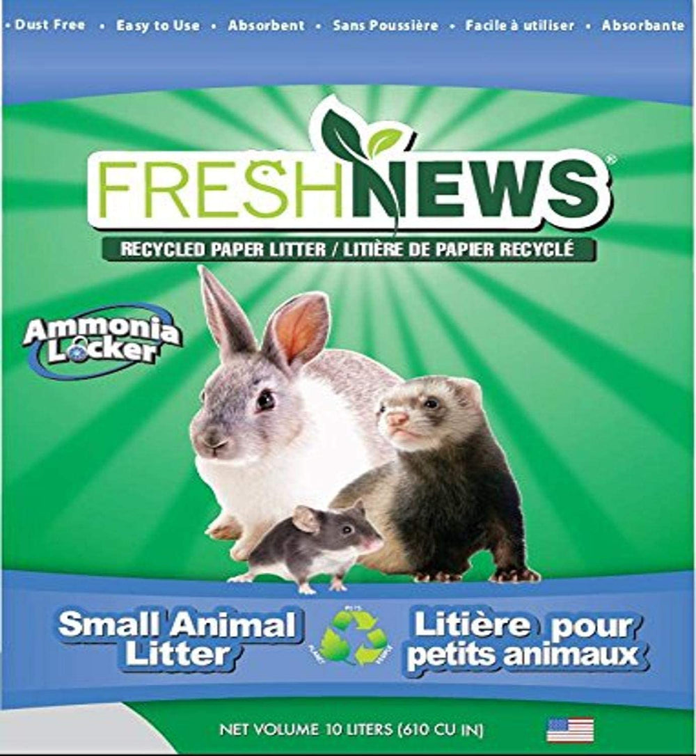 Fresh News Recycled Paper Small Animal Litter