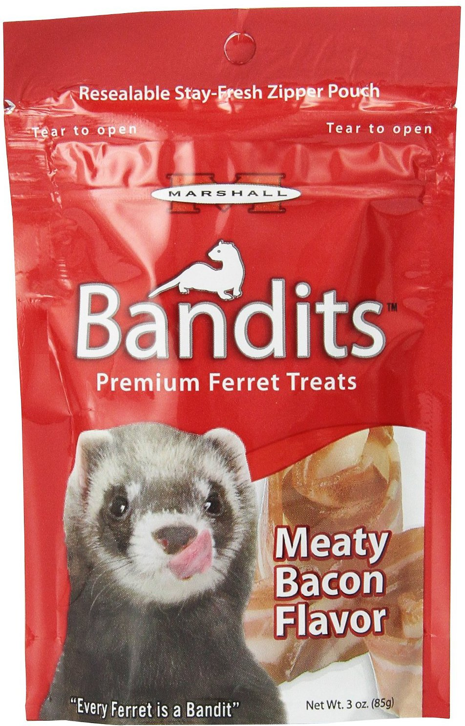 Marshall Bandits Ferret Bacon
