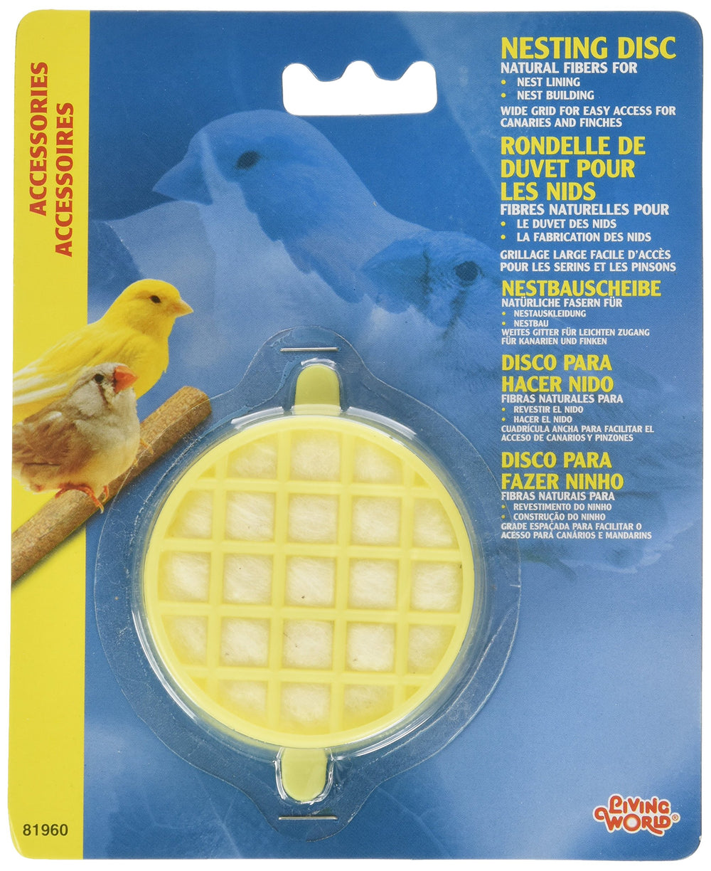 Living World Canary Nest Lining Disc