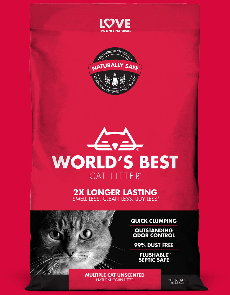 World's Best Multi-Cat Litter
