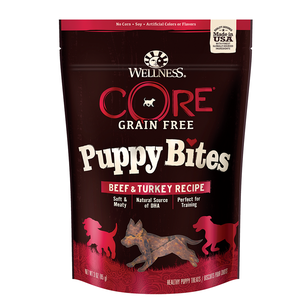 Wellness Core Puppy Bites Beef & Turkey