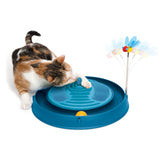 Catit Play Circuit Ball with Massager