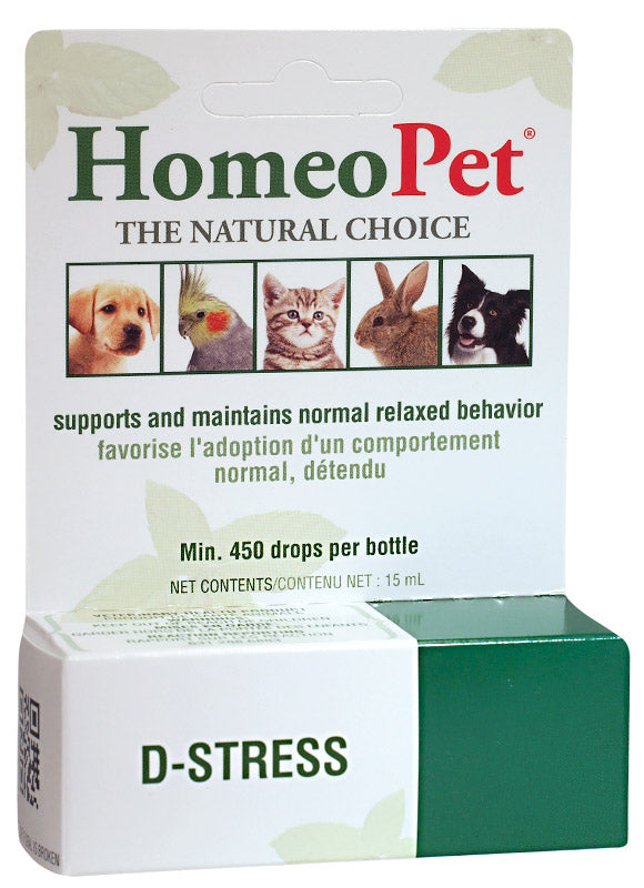 HomeoPet D-Stress Drops