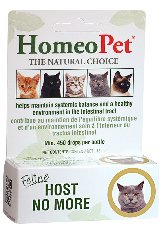 HomeoPet Feline Host No More Drops
