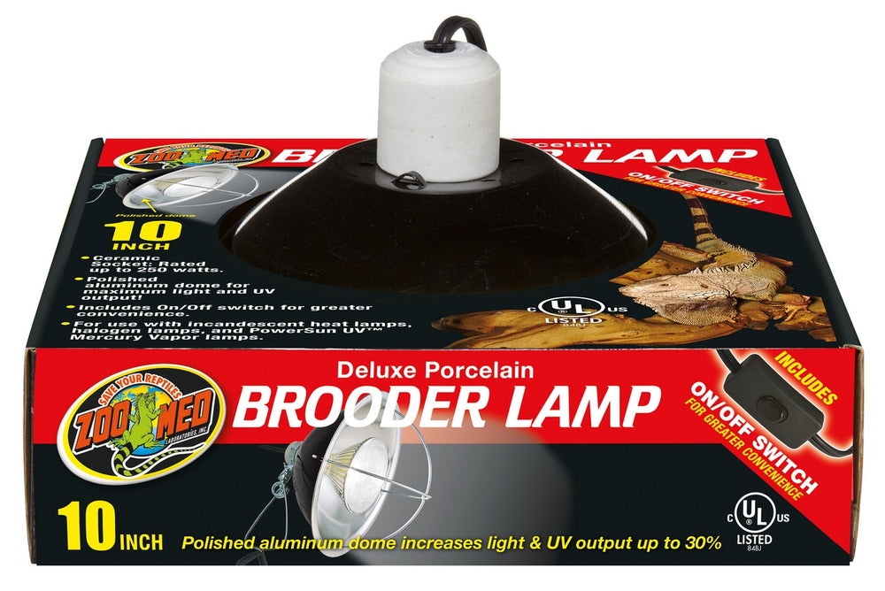 Zoo Med Porcelain Brooder Lamp