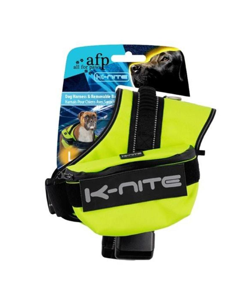 AFP K-Nite Dog Harness & Removable Bag