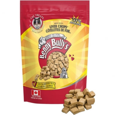 Benny Bully's Freeze Dried Liver Chops