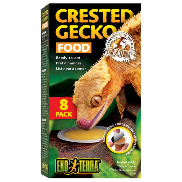 Exo Terra Crested Gecko Food in Cups