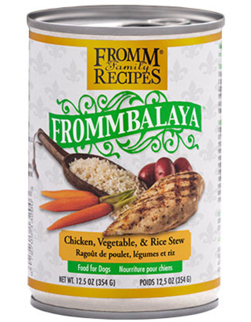 Fromm Recipes Frommbalaya Chicken, Veg & Rice Stew