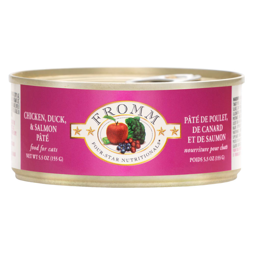 Fromm Four-Star Chicken, Duck & Salmon Pâté