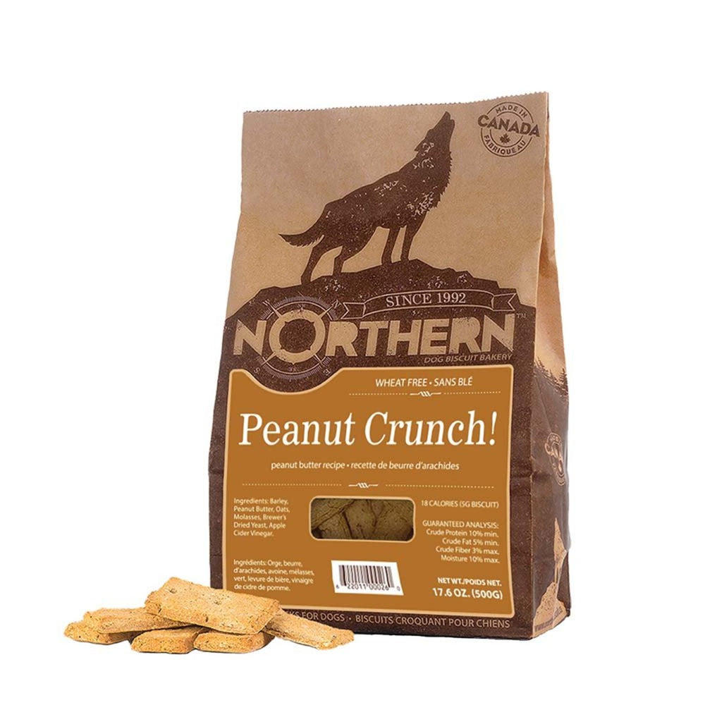 Northern Peanut Crunch Biscuits