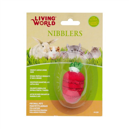 Living World Nibblers Wood Strawberry