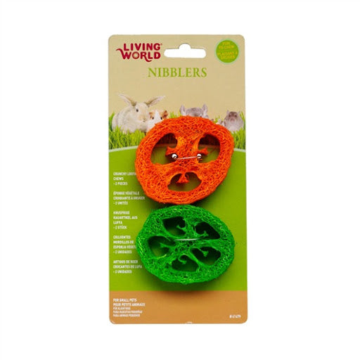 Living World Nibblers Crunchy Loofah