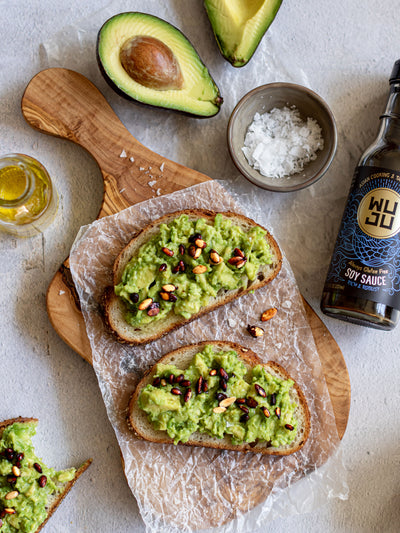 Avocado Toast with Roasted Seeds