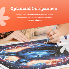 Afbeelding in Gallery-weergave laden, Diamond Painting Opbergdoos - 64 Vakjes - Diamond Painting Accesoires - Opbergbox met deksel - Diamond Painting sorteerdoos – Inclusief labels