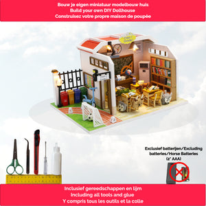 Bouwpakket Volwassenen - Seasons in the Sun - Modelbouwpakket - Poppenhuis - Knutselen - DIY Dollhouse